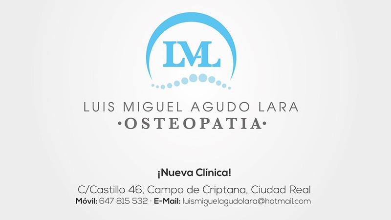 Luis Miguel Agudo Lara - Osteopatía